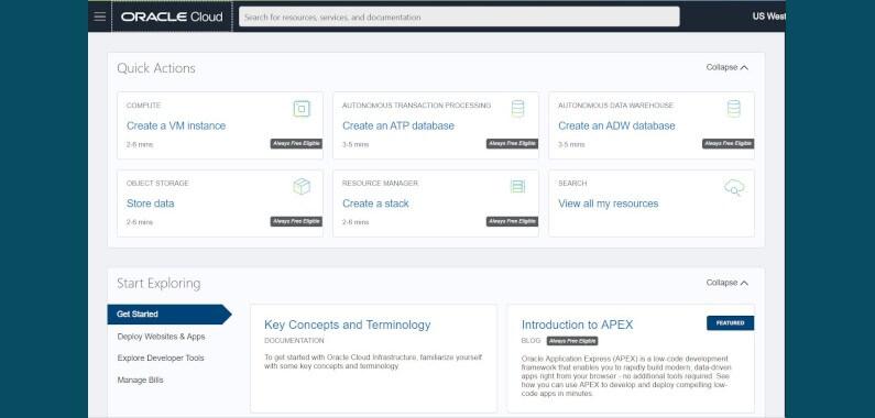Tutorial 1: Conectar SQL Developer con la Base de Datos de Procesamiento de Transacciones Autónomo