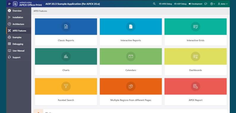 Buenas noticias! APEX Office Print (AOP) 20.3 esta listo para Descargar!