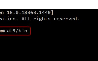 Cómo iniciar y detener Apache Tomcat desde la línea de comandos (Windows)